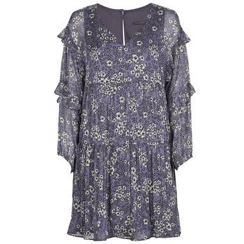 Kleidung Damen Kurze Kleider Ikks FRENNU Blau