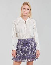 Kleidung Damen Tops / Blusen Ikks FANILA Naturfarben
