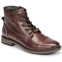 Schuhe Herren Boots Bugatti MARCELLO I Braun