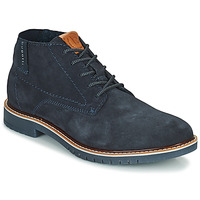Schuhe Herren Boots Bugatti PLUTONO Marine
