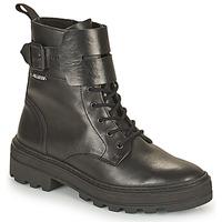 Schuhe Damen Boots Palladium Manufacture CULT 03 NAP Schwarz