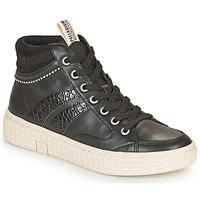 Schuhe Damen Sneaker High Palladium Manufacture TEMPO 03 SYN Schwarz