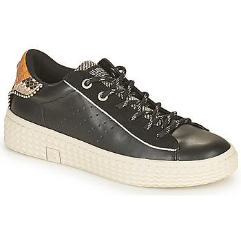 Schuhe Damen Sneaker Low Palladium Manufacture TEMPO 04 SYN Schwarz