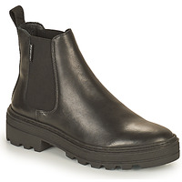 Schuhe Damen Boots Palladium Manufacture CULT 01 NAP Schwarz