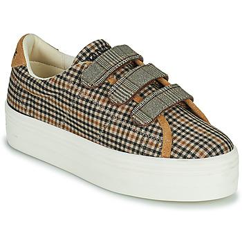 Schuhe Damen Sneaker Low No Name PLATO M STRAPS Schwarz