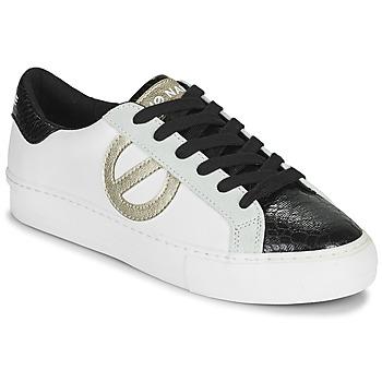 Schuhe Damen Sneaker Low No Name ARCADE SIDE Weiss / Schwarz