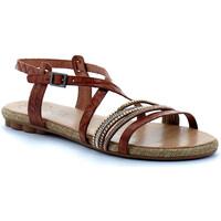 Schuhe Damen Sandalen / Sandaletten Porronet  Marron