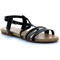 Schuhe Damen Sandalen / Sandaletten Porronet  Noir