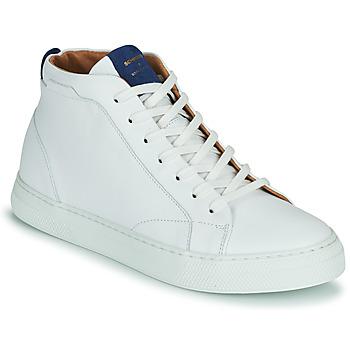Schuhe Herren Sneaker High Schmoove SPARK MID Weiss