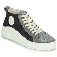 Schuhe Damen Sneaker High Armistice FOXY MID LACE W Schwarz