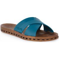 Schuhe Damen Pantoffel Sensi 347 AMALFI PAVONE Beige