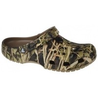 Schuhe Pantoletten / Clogs Crocs Classic Realtree V2 Grün