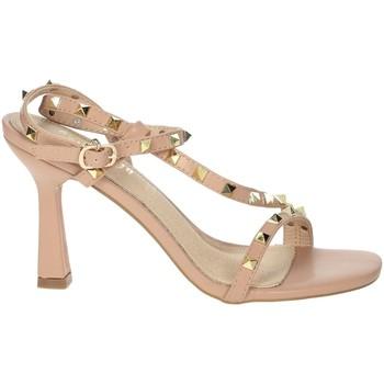 Schuhe Damen Sandalen / Sandaletten Gold & Gold GP49 Puderrosa