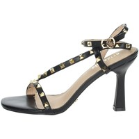 Schuhe Damen Sandalen / Sandaletten Gold & Gold GP49 Schwarz