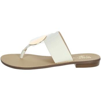 Schuhe Damen Zehensandalen Gold & Gold GL632 Weiss