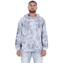 Kleidung Herren Sweatshirts Sixth June Sweatshirt  Custom Tie Dye gris anthracite/rose hibiscus