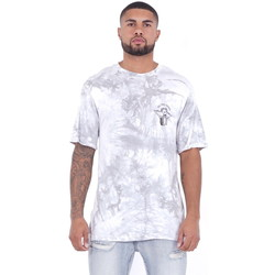 Kleidung Herren T-Shirts Sixth June T-shirt  Custom Tie Dye blanc/rose