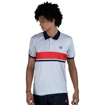 Kleidung Herren Polohemden Sergio Tacchini Polo  Ansley white/red