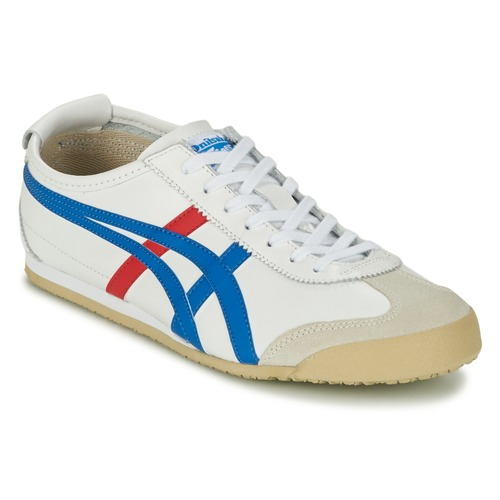 Sneaker Onitsuka Tiger MEXICO 66 Weiss / Blau / Rot 350x350