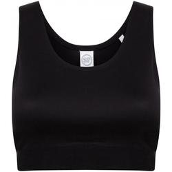 Kleidung Mädchen Sport BHs Skinni Fit SM236 Schwarz/Schwarz
