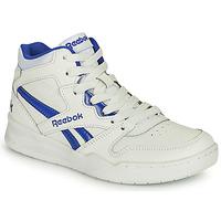 Schuhe Kinder Sneaker High Reebok Classic BB4500 COURT Weiss / Blau