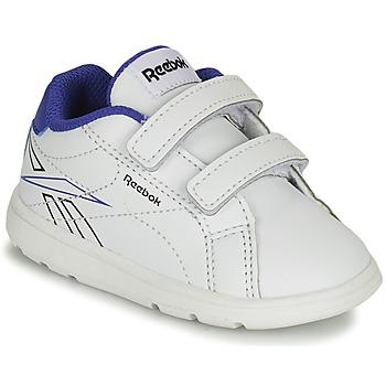 Schuhe Jungen Sneaker Low Reebok Classic RBK ROYAL COMPLETE Weiss / Blau