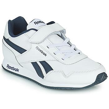 Schuhe Jungen Sneaker Low Reebok Classic REEBOK ROYAL CLJOG Weiss / Marine