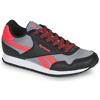 Schuhe Kinder Sneaker Low Reebok Classic REEBOK ROYAL CLJOG Schwarz / Rot