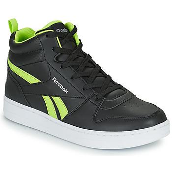 Schuhe Kinder Sneaker High Reebok Classic REEBOK ROYAL PRIME Schwarz / Gelb