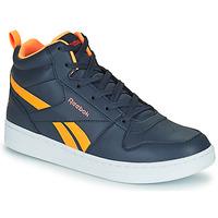 Schuhe Kinder Sneaker High Reebok Classic REEBOK ROYAL PRIME Marine / Orange