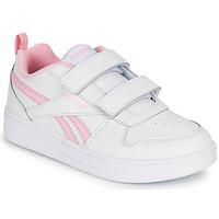 Schuhe Mädchen Sneaker Low Reebok Classic REEBOK ROYAL PRIME Weiss / Rose
