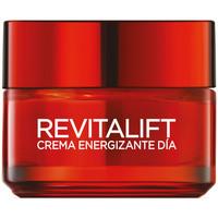 Beauty Damen gezielte Gesichtspflege L'oréal Revitalift Ginseng Rojo Crema Día Energizer