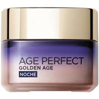 Beauty Damen gezielte Gesichtspflege L'oréal Age Perfect Golden Age Cuidado Frío Re-estimulante Noche 50