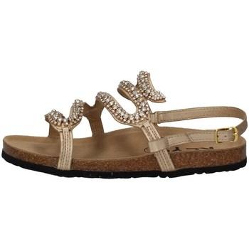 Schuhe Damen Sandalen / Sandaletten Keys K-4874 GOLD