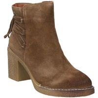 Schuhe Damen Low Boots D'angela DRB16368-ME Marron