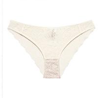 Unterwäsche Damen Damenslips Underprotection RR1021 LUNA BRIEF OFF WHITE Beige