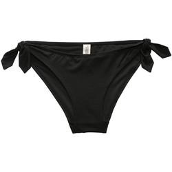Kleidung Damen Bikini Ober- und Unterteile Underprotection RR2007 ALEXIA BIKINI BRIEF BLK Schwarz