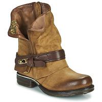 Schuhe Damen Boots Airstep / A.S.98 SAINT BIKE Camel
