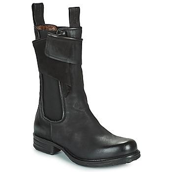 Schuhe Damen Boots Airstep / A.S.98 SAINTEC CHELS Schwarz