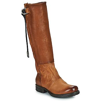 Schuhe Damen Klassische Stiefel Airstep / A.S.98 SAINTEC HIGH Camel