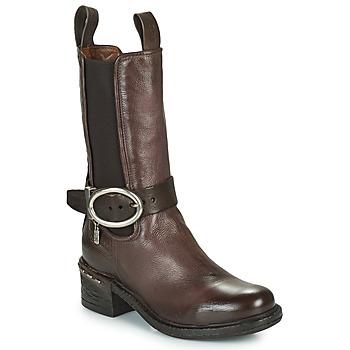 Schuhe Damen Low Boots Airstep / A.S.98 NOVASUPER CHELS Braun
