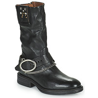 Schuhe Damen Boots Airstep / A.S.98 FLOWER BIKE Schwarz