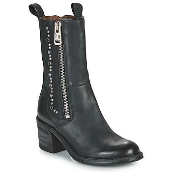 Schuhe Damen Low Boots Airstep / A.S.98 JAMAL STUDS Schwarz