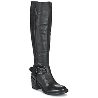 Schuhe Damen Klassische Stiefel Airstep / A.S.98 JAMAL HIGH Schwarz