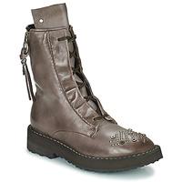 Schuhe Damen Boots Airstep / A.S.98 CHIMICA Braun