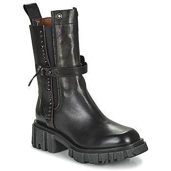 Schuhe Damen Boots Airstep / A.S.98 HELL STUD Schwarz