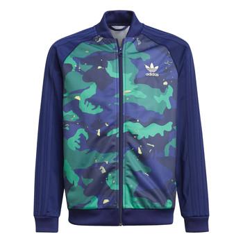 Kleidung Jungen Trainingsjacken adidas Originals HARRA Multicolor