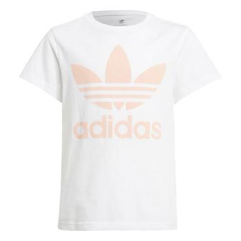 Kleidung Kinder T-Shirts adidas Originals VAGUO Weiss