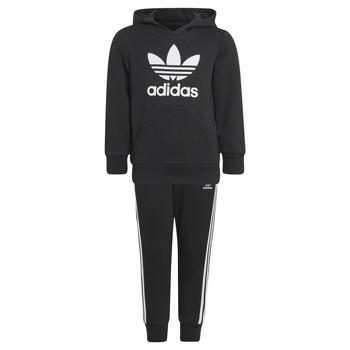 Kleidung Kinder Jogginganzüge adidas Originals SOURIT Schwarz
