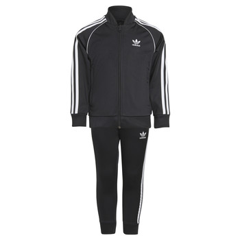 Kleidung Kinder Jogginganzüge adidas Originals RISUER Schwarz